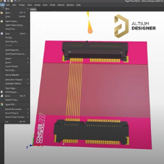 Altium 3D tervezes