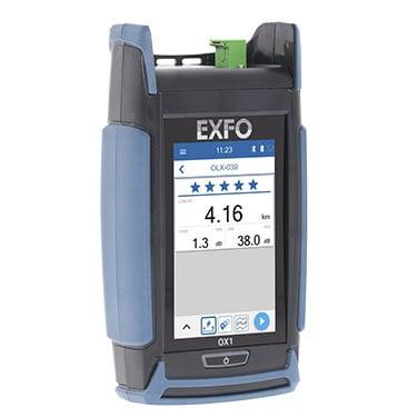 EXFO Optical Explorer OX1 xGS-PON Ready und Swisscom Zulassung