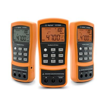 The Keysight U1700 Series capacitance/LCR meters