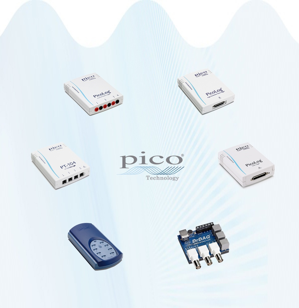 Pico Technology Data Loggers Overview