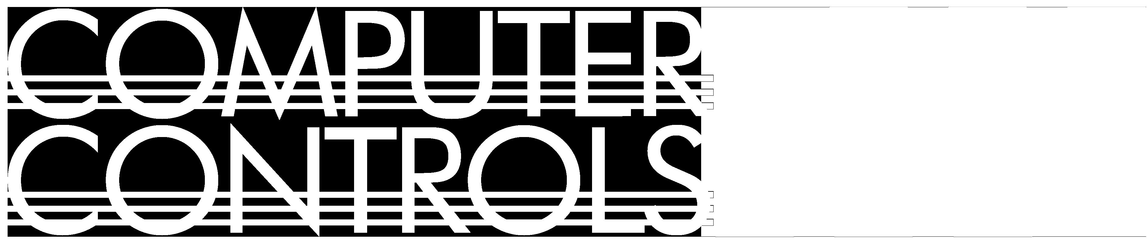 CControls (Computer Controls) Logo - White